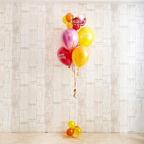 真夏のようなはじける笑顔に! Tropical Happy Birthday[2]
