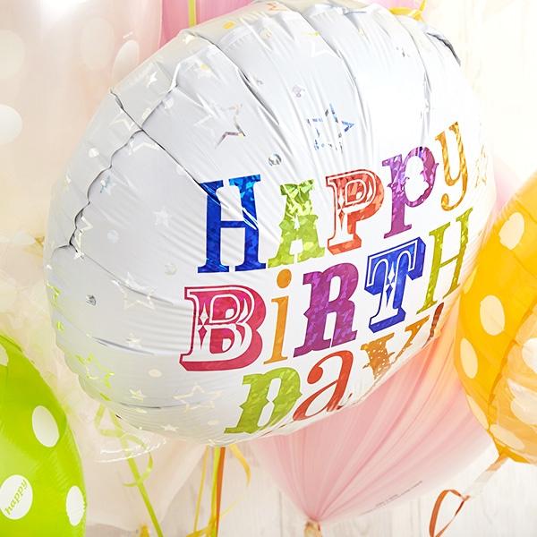キャンディーカラードット&マーブルでHAPPY BIRTH DAY![3]