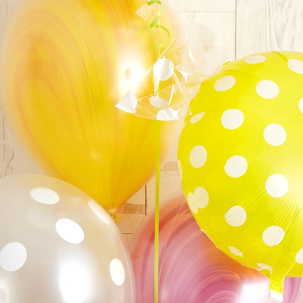 キャンディーカラードット&マーブルでHAPPY BIRTH DAY![5]