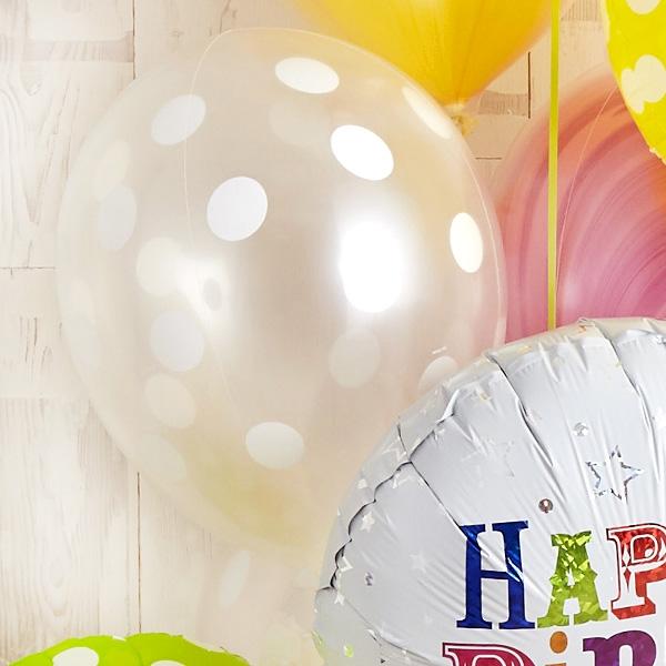 キャンディーカラードット&マーブルでHAPPY BIRTH DAY![6]