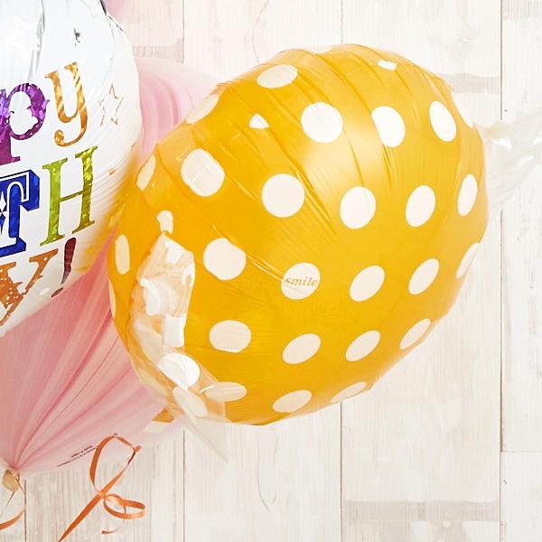 キャンディーカラードット&マーブルでHAPPY BIRTH DAY![8]