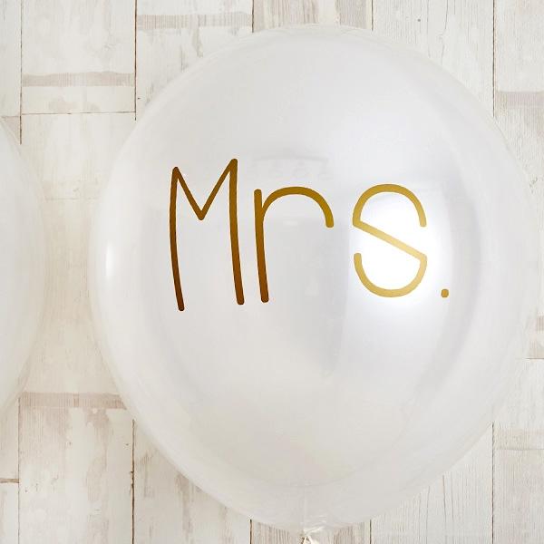 シンプルゴールドMr.&Mrs.Wedding[4]