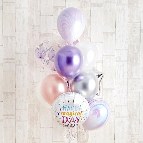 Pink&Purpleの魔法にかかるHappyBirthday