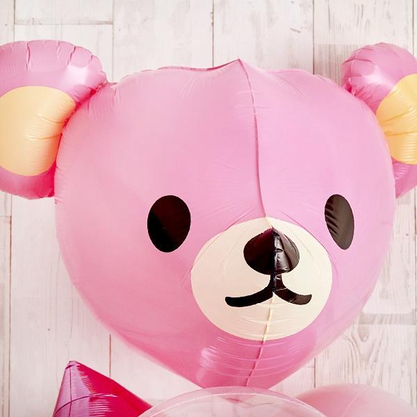 Cutie PinkeyBearでベビーシャワー(ピンク)[4]