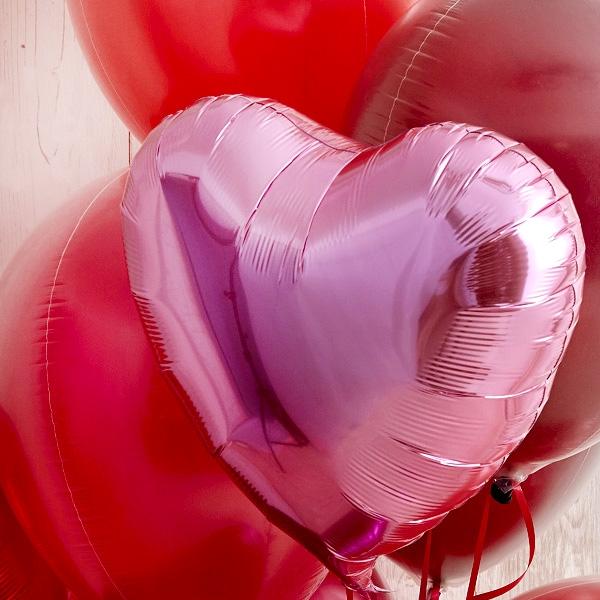 愛がたくさんこもったハートバルーン[4]