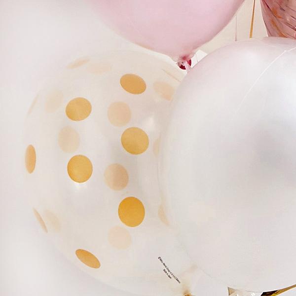 ゴールド×ピンクで祝うHappy Wedding![6]