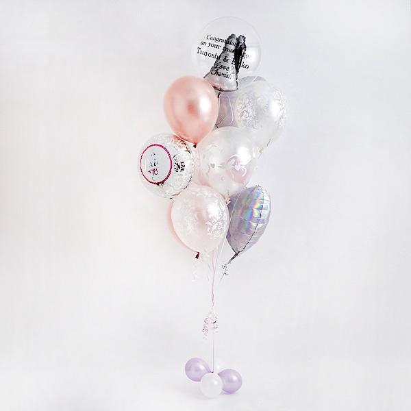 ディテールで魅せる、オトナWedding Balloon[3]