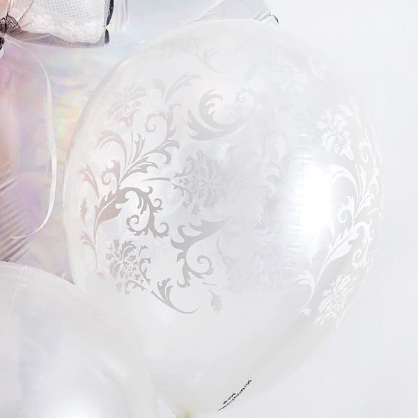 ディテールで魅せる、オトナWedding Balloon[6]