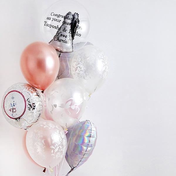 ディテールで魅せる、オトナWedding Balloon[9]