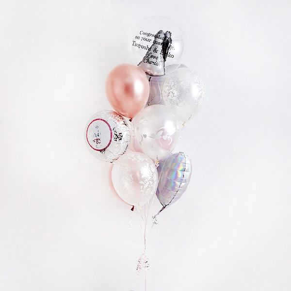 ディテールで魅せる、オトナWedding Balloon[10]