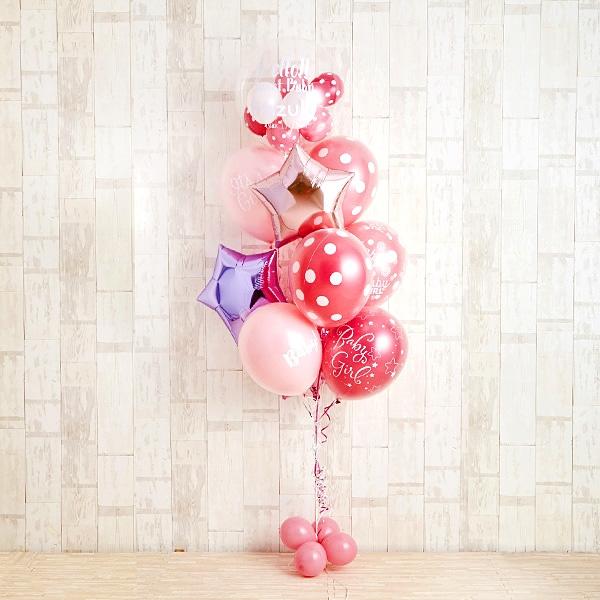 女の子ベビーに!Pink Dot Baby Shower[2]