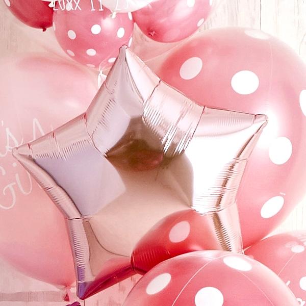 女の子ベビーに!Pink Dot Baby Shower[4]
