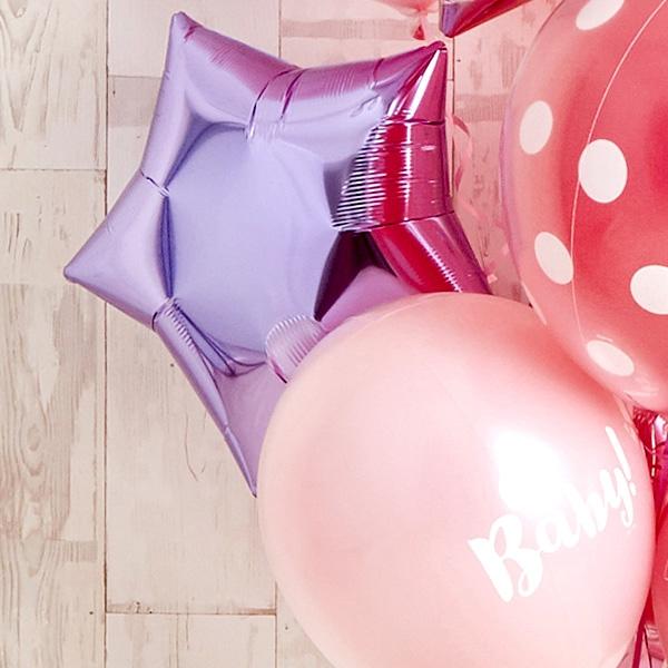 女の子ベビーに!Pink Dot Baby Shower[5]