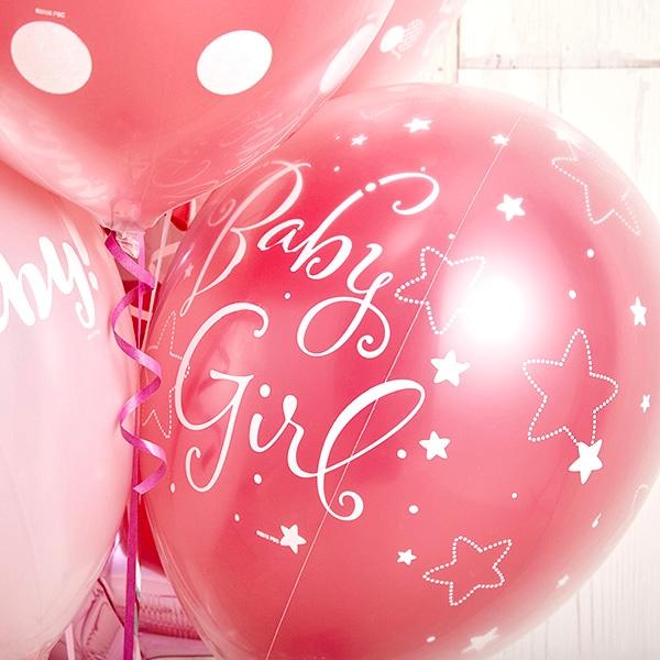 女の子ベビーに!Pink Dot Baby Shower[6]