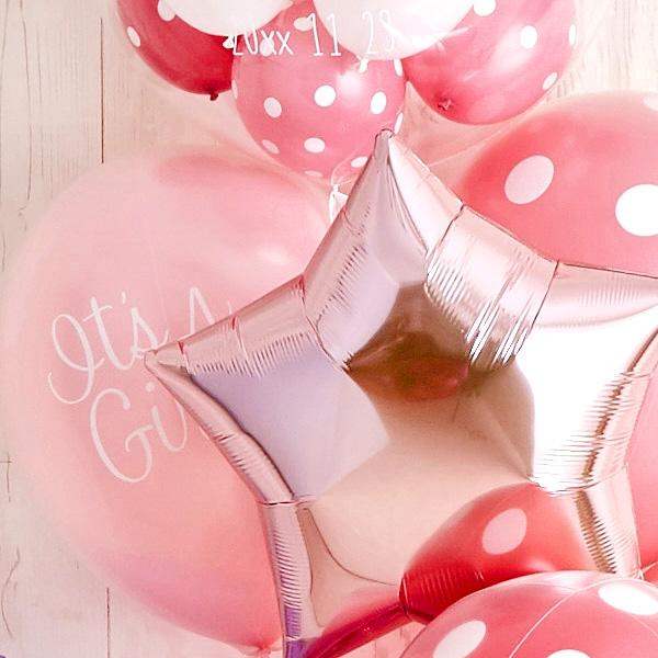 女の子ベビーに!Pink Dot Baby Shower[8]