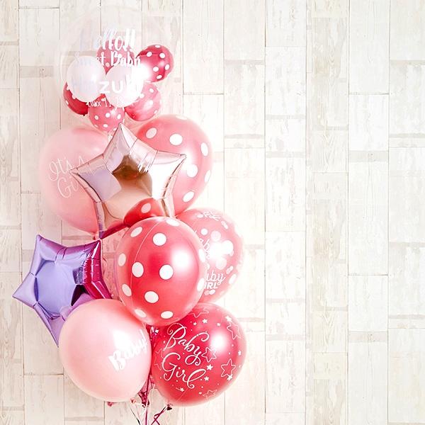 女の子ベビーに!Pink Dot Baby Shower[9]