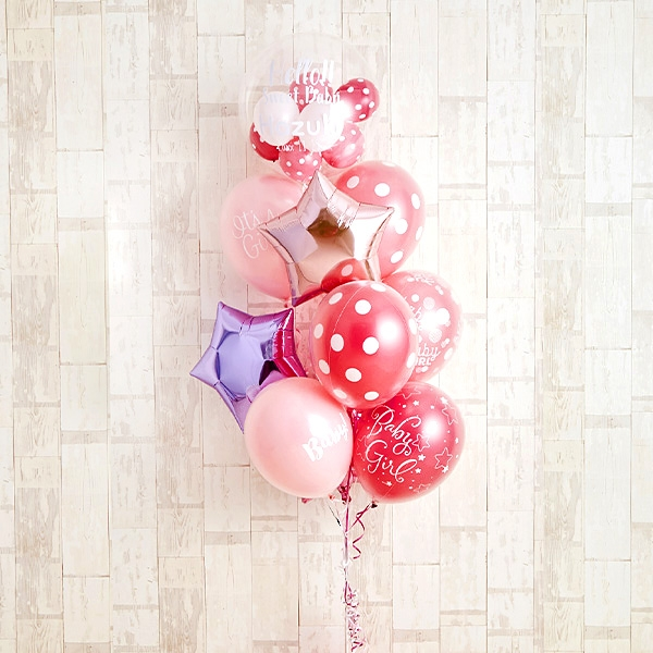 女の子ベビーに!Pink Dot Baby Shower[10]