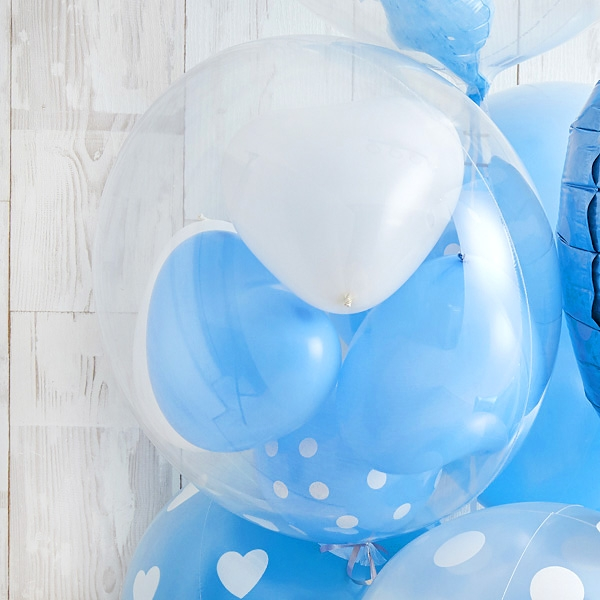Floting Bear Blue Baby Shower[3]