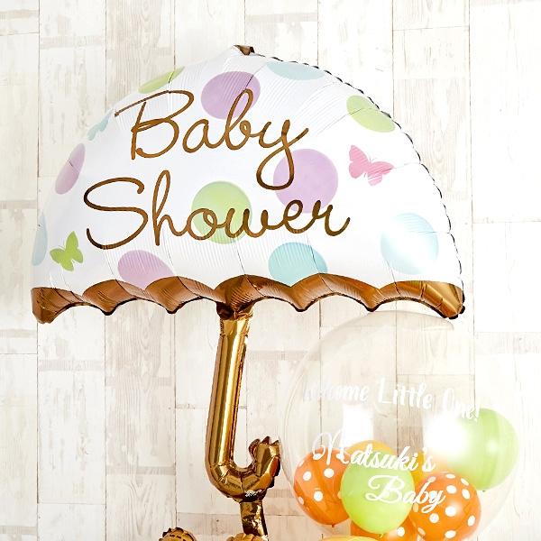 キュートなテディベアーがひょっこり顔を出すBaby Shower[4]
