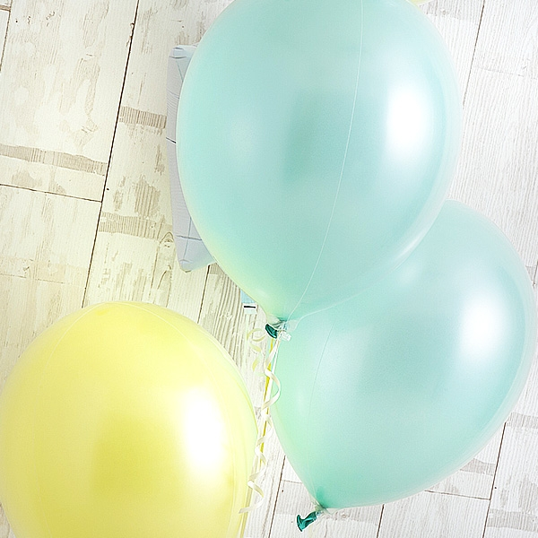 ミントグリーン×レモンイエローが織りなす、フレッシュアレンジ![4]