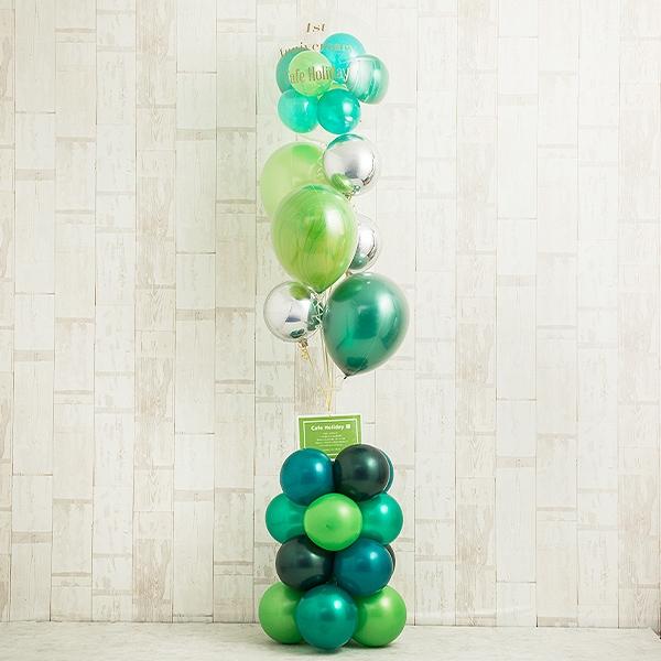 観葉植物みたいに飾りたい、ヒーリンググリーン・スタンディングバルーン