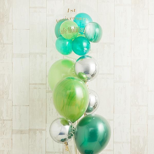 観葉植物みたいに飾りたい、ヒーリンググリーン・スタンディングバルーン[3]