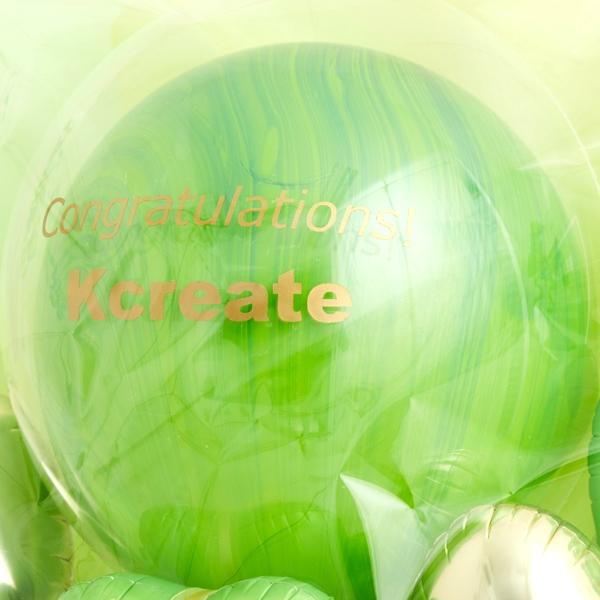 どんな空間にも馴染む、癒やしのグリーンポットwith many Heart[7]