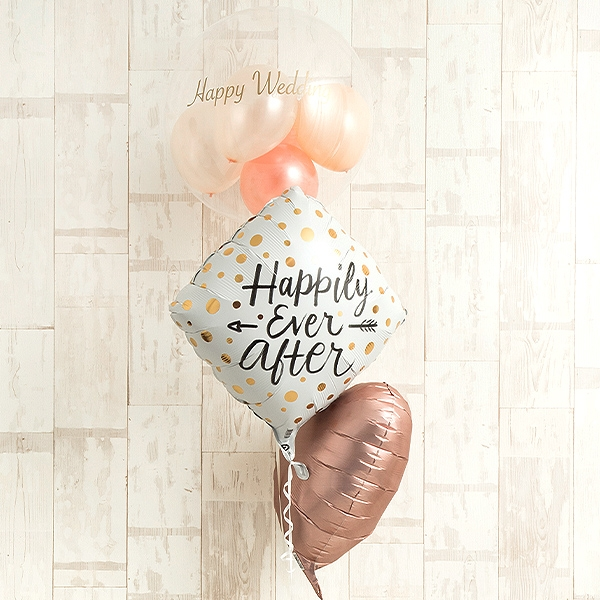 幸せを願うニュアンスカラーWeddingアレンジ![1]
