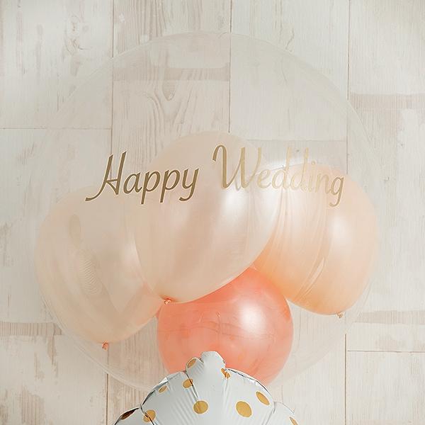 幸せを願うニュアンスカラーWeddingアレンジ![2]