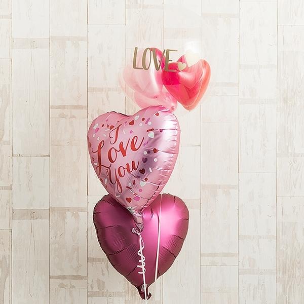 ピンクグラデーションでI LOVE YOU [10]