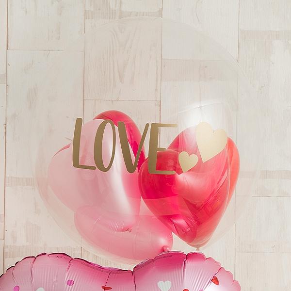 ピンクグラデーションでI LOVE YOU [2]
