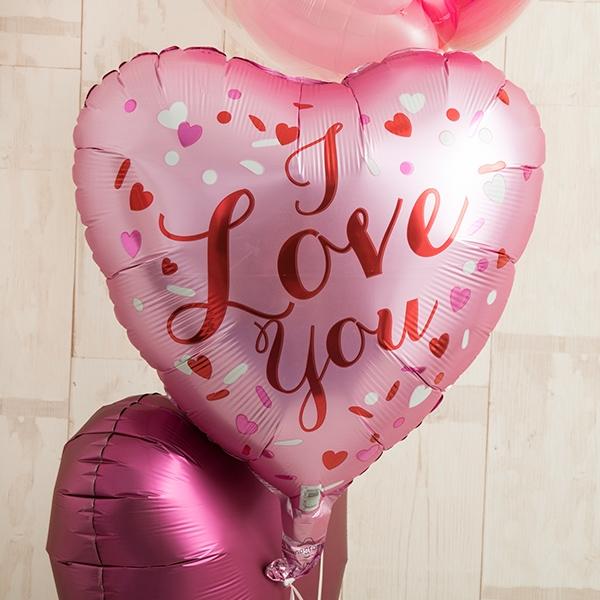 ピンクグラデーションでI LOVE YOU [3]