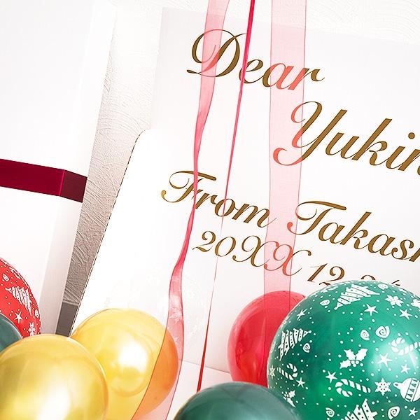 Christmas balloons box クリスマスバルーンボックス [6]