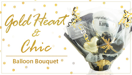 T-506 Gold Heart & Chic